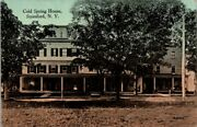 Postcard Cold Spring House Stamford Ny