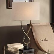 Talema Industrial Decor Twisted Steel Body 30 Accent Table Lamp Uttermost