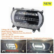 Dual Led Headlight Hi/lo Beam For Road Glide 15-20 Motorcycle Headlight Assembly