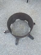 Stickney 7-10 Hp Antique Hit And Miss Original Cast Iron Gas Engine Pulley