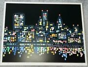 Yoon Hyup Thames Lights Limited Edition Of 90 Screen Print