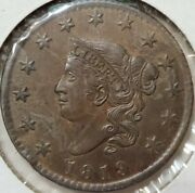 1819 Large Cent Small Date Uncirculated