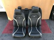 2015-2018 Mercedes W205 C63 Amg Sport Leather Seats Seat Rear Front Cushion Oem