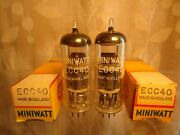 Philips Ecc40 New Old Stock New In Box Pair With Same Date Codes Vintage Valve