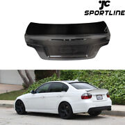 Carbon Fiber Rear Trunk Lid Cover Fit For Bmw E82 Coupe 128i 135i 1m 2008-2011