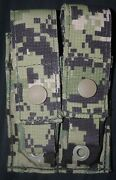 New Aor2 5a2 Eagle Double M9 Glock Sig Flat Molle Pouch V.2 Cag Seal Devgru Nsw
