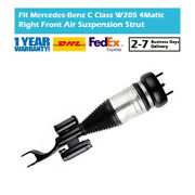 Front Right Air Suspension Strut Ads Fit Mercedes C-class W205 S205 C205 4matic