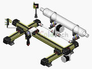 Integrated Mechanical Part For Co2 Laser Engraveing Cutting Machine Diy 50x30 Cm