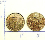 2 Medals Usa Us Treasury Wwi Victory Liberty Loan From Captured German Cannon