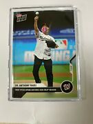 2020 Dr. Anthony Fauci - Mlb Topps Now Card 2 - Pre-sale Sold Out Item In Hand