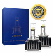 Bright Led Headlight Bulb Conversion Kit D1s D1r Low Beam For Bmw M3 Convertible