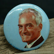 Barry Goldwater Presidential Campaign Button Pinback Rare Blue D3
