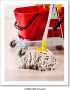 House Cleaning Detail Art Print / Canvas Print. Poster Wall Art Home Decor - C