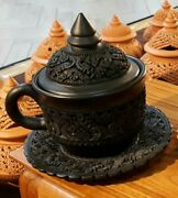 Clay Pot Pottery Tea Coffee Earthenware Cup Mugs Art Ethnicities Cultures