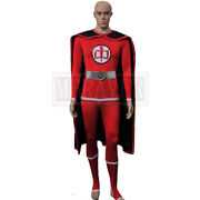 The Greatest American Hero Cosplay William Katt Costume Flying Uniform Outfits