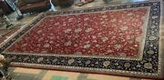 Huge Room Size Hand Made Vintage/antique Persian Wool Rug 12andrsquox19andrsquo