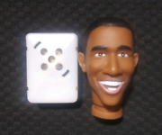 Make Your Own Talking Barak Obama Doll - Lifelike Head And Voice Box - Brand New