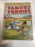 Famous Funnies 1936 22 Vg | White Pages