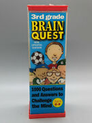 New-3rd Grade Brain Quest Deck 1and2-1000 Questions And Answers-updated Edition