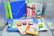 Leapfrog Leappad Plus Writing Learning System Lot Books And Cartridges Tested
