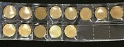 Great Britain 1944 Three Pence 3d Collection X 13 Coins