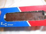 Ho Train Eandc Shops 50and039 Ps-1 Sgl Pnl Door Boxcar Kit Undecorated Made In The Usa