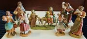 Fontanini Nativities Building Family Traditions Figurine Set Of 7