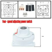 Dual Battery Selector Switch Disconnect Power Cut Off On For Rv Marine Boat Abs