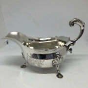 Antique Silver Sauce Boat - Over 250 Years Old