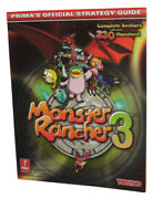 Monster Rancher 3 Prima Games Official Strategy Guide Book