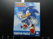 🧩 Jigsaw Sonic The Hedgehog Old Shaped 200 Puzzle Vintage Rare 🧩