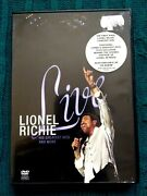 Lionel Richie Live His Greatest Hits And More - Dvd- R2-6 - Like New-free Post