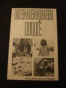 Vietnam 1968 Hue Tet Offensive Poster Antiwar Yaf Young Americans For Freedom