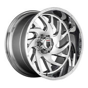 American Truxx At1907 Xclusive Rim 22x12 5x127 Offset -44 Chrome Quantity Of 4