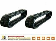 2 Pcs 16 Wide Rubber Track 400x86x56 Made For John Deere Ct332
