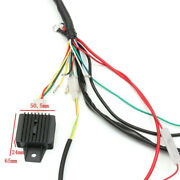 Atv Wiring Harness Loom Solenoid Coil Cdi Kit 50/70/90/110 125cc For Quad Dirt