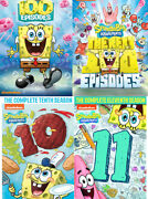 Spongebob Squarepantsthe Complete Seasons 1-11 Dvd Sets First Next 100 10 11