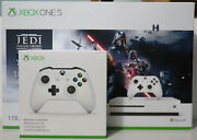 Microsoft Xbox One S 4k Star Wars Jedi Fallen Order 1tb Limited Console And Extra