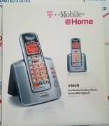 Vtech Tm3111-2 Dect 6.0 Caller Id Cordless Phone With 2 Handsets New Sealed Box
