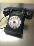 Antique French State Property Government Phone In Bakelite Estate Find