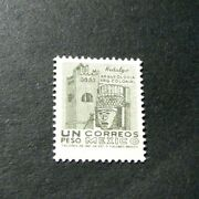 Mexico Stamp Scott 950 Convent And Carved Head 1964 Mnh H67