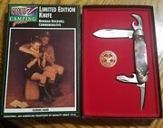 Boy Scouts Of America Four Blade Scout Knife Norman Rockwell - Guiding Hand