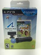 Rare Sony Playstation Ps3 Playstation Move Bundle Start The Party New Open Box