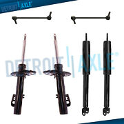 Ford Taurus Lincoln Mks Shock Absorbers + Sway Bar Links Fits All Front And Rear