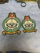 2x Republic Of Singapore Air Force Patch - F-16 Airport Squadron