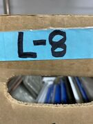Nos Rare 1949 Frount California License Plate Tab-tag Blank For 1947 Plates