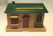 Toy Train Accessory, Central Station, Nurnberg, Plastic, Steam Engine Sounds