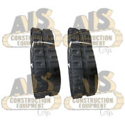 Two New Rubber Tracks Fits Bobcat Models And Replaces Mpn 77700-05501