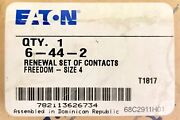 Eaton Cutler Hammer 6-44-2 Freedom Series Size 4 Contact Kit 6 44 2