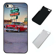 55 Chevy American Classic Plastic Phone Case Fits Iphone